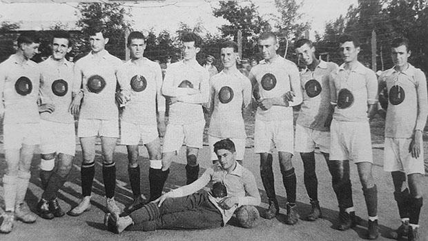 Отборът на Левски София през сезон 1921/1922