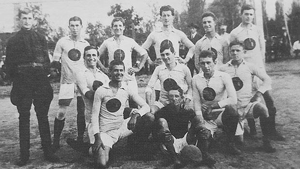 Отборът на Левски София през сезон 1922/1923