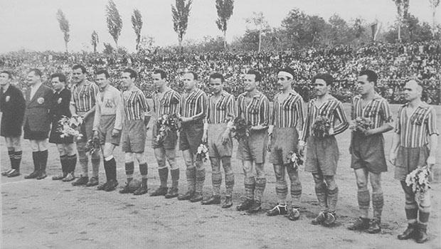 Отборът на Левски София през сезон 1948/1949