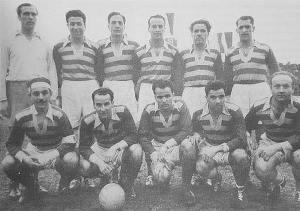 Отборът на Левски София през сезон 1950