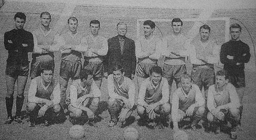 Една историческа снимка - шампионския отбор на Левски София през 1965 г.