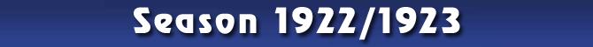 Season 1922/1923