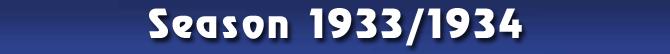 Season 1933/1934