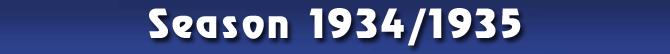 Season 1934/1935