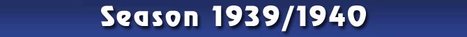 Season 1939/1940