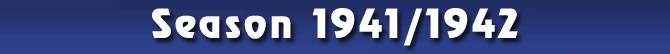 Season 1941/1942