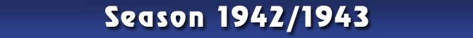 Season 1942/1943