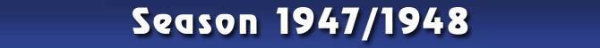 Season 1947/1948