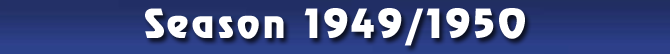 Season 1949/1950
