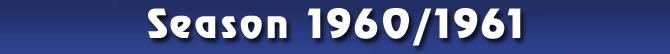 Season 1960/1961