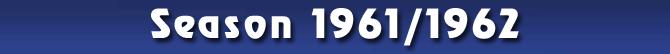 Season 1961/1962