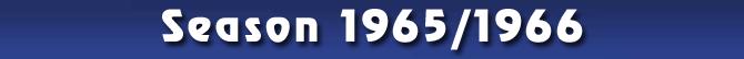 Season 1965/1966