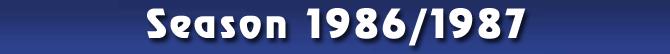 Season 1986/1987