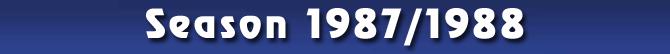 Season 1987/1988