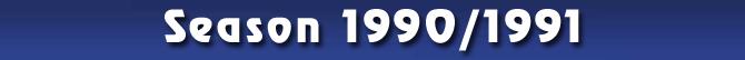 Season 1990/1991