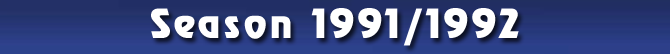 Season 1991/1992