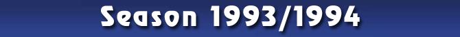Season 1993/1994