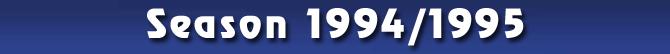 Season 1994/1995