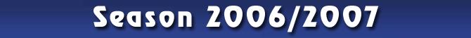 Season 2006/2007