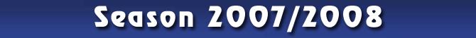 Season 2007/2008