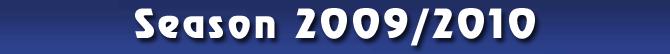 Season 2009/2010