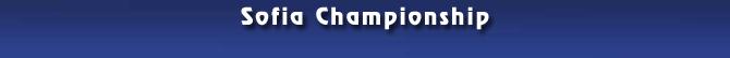 Sofia Championship