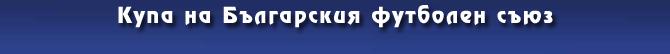 Купа на Българския футболен съюз