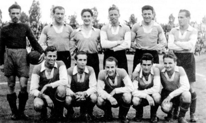 Отборът на Левски София през сезон 1945/1946
