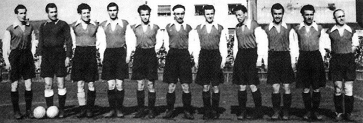 Отборът на Левски София през сезон 1946/1947