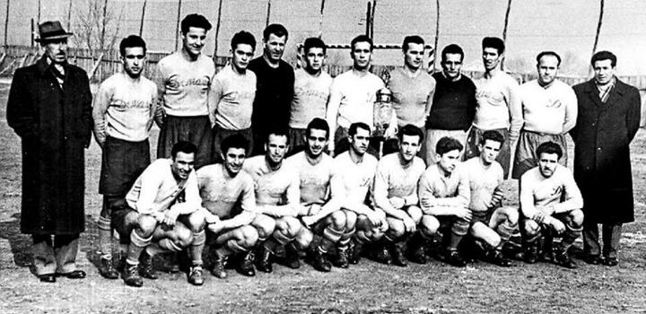 Отборът на Левски София през сезон 1953