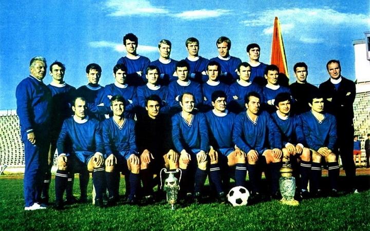 Отборът на Левски София през сезон 1969/1970