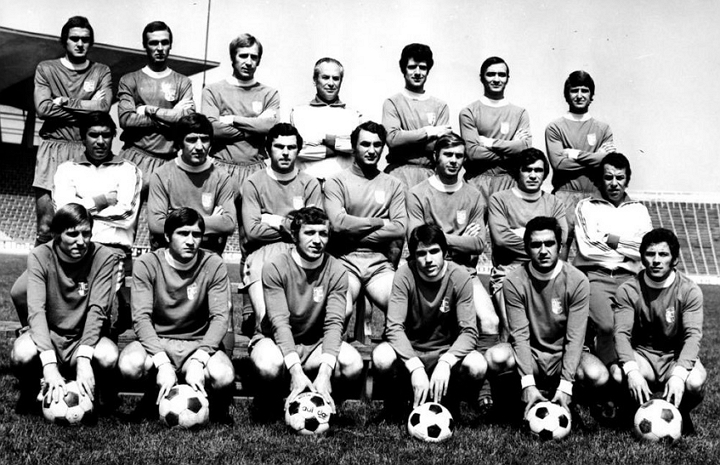 Отборът на Левски София през сезон 1973/1974