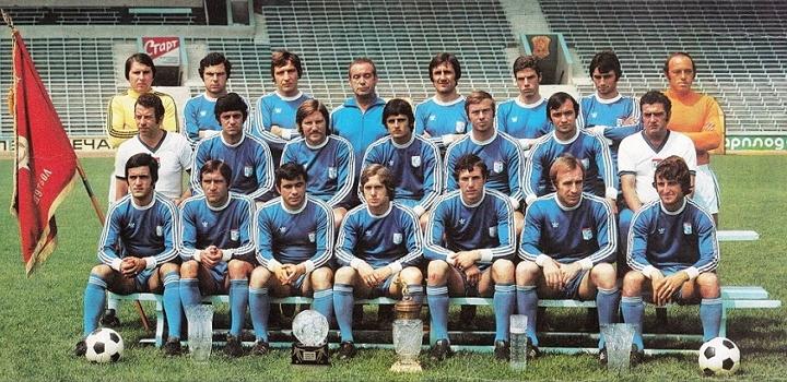 Отборът на Левски София през сезон 1976/1977