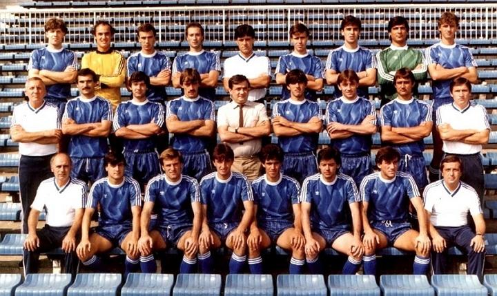 Отборът на Левски София през сезон 1987/1988