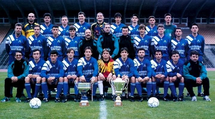 Отборът на Левски София през сезон 1994/1995