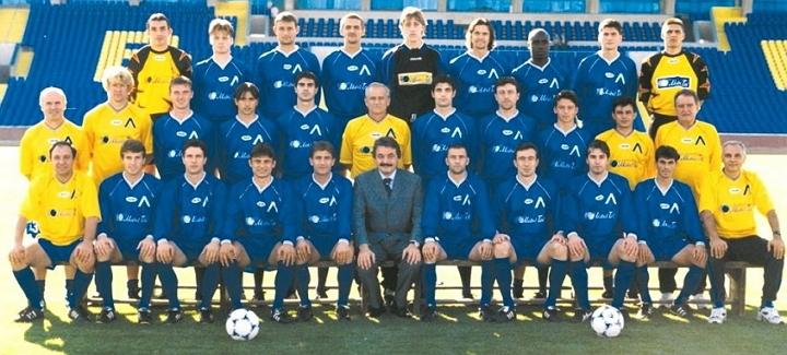 Отборът на Левски София през сезон 1999/2000