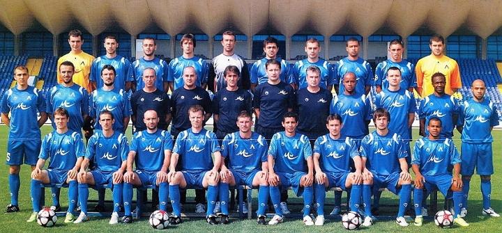 Отборът на Левски София през сезон 2008/2009