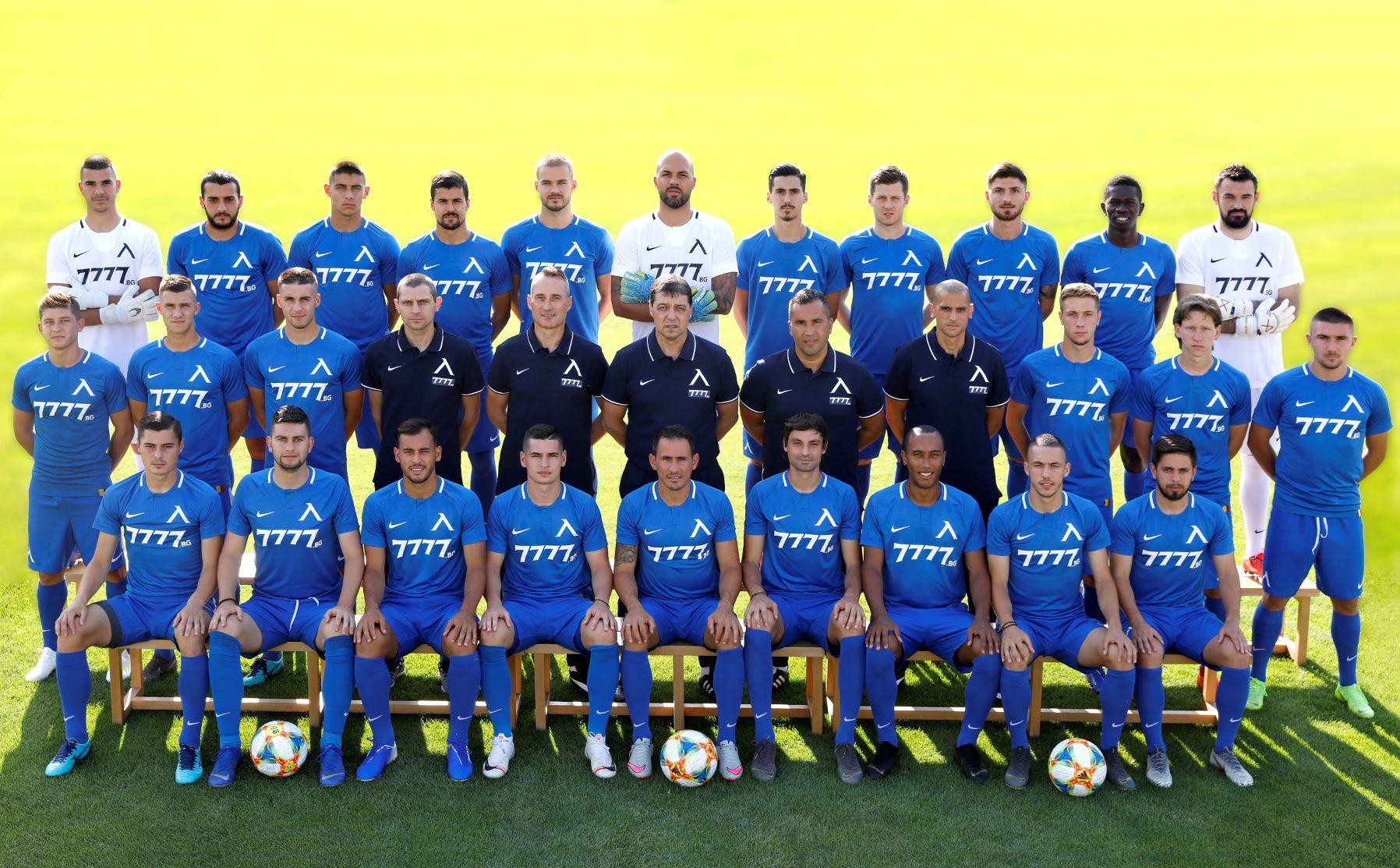 Отборът на Левски София през сезон 2019/2020