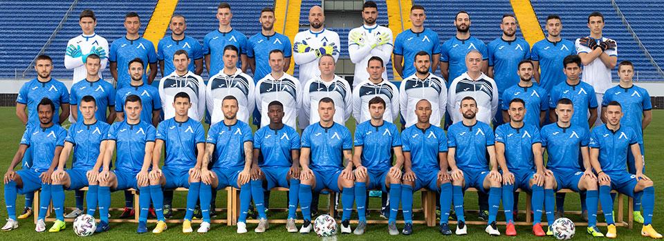 Отборът на Левски София през сезон 2020/2021